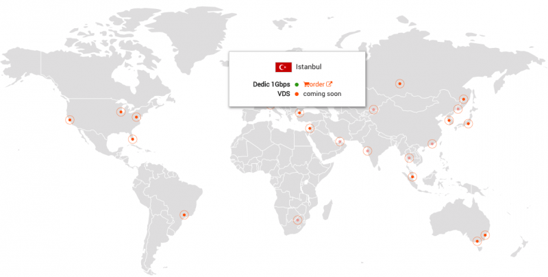 Tel Aviv Middle East Map.New Dedicated Servers In Israel From 135