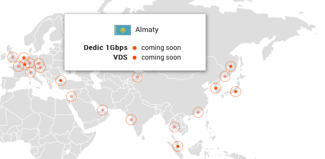 New G-CDN PoPs in Kazakhstan